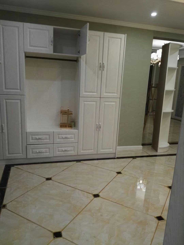 晒晒硬装刚结束的新房 电视墙很漂亮 厨房很实用